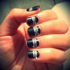 Playing with ~negative space~ and striping tape! Thanks Stephanie Stone!