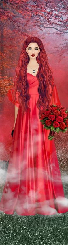 Red Hair Woman, Covet Fashion, Disney Characters, Fictional Characters, Female, Disney Princess, Art, Drawings, Art Background