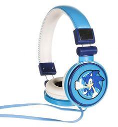 Blue #Sonic The #Hedgehog #Headphones xoxo