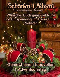 1 Advent, Advent Candles, Christmas Wreaths, Christmas Ornaments, Merry Christmas, Holiday Decor, Party, Winter Christmas, Christmas Time