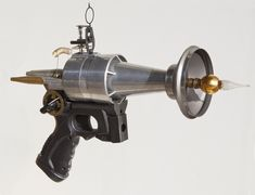 ray gun made from found objects
