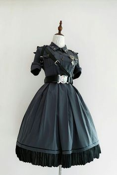Your Highness -The Vow- 2019 Version Military Lolita OP Dress,Lolita Dresses, Pretty Outfits, Pretty Dresses, Beautiful Dresses, Mode Outfits, Dance Outfits, Old Fashion Dresses, Fashion Outfits, Dresses Dresses, Kawaii Clothes