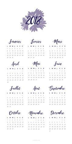 Anatomie d'un Caractère: Calendrier 2018 a imprimer - Série végétale  #A2 #A3 #A4 #calendar #calenddrier #feuille #free #gratuit #illustration #imprimer #végétal #color #gratuites   http://typographeuse.blogspot.fr/2018/01/calendrier-2018-imprimer-serie-vegetale.html