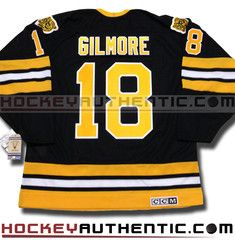 b5a01b5bb Happy Gilmour Boston Bruins 1996 CCM vintage jersey