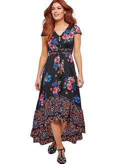 5a23228e9f Joe Browns Boho Floral Paisley Maxi Dress