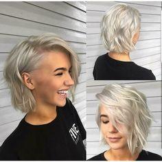 coupe de cheveux carré long | Coiffure simple et facile