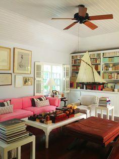 India Hicks' living room.