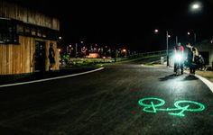 Webhouse.pt - Londres invadida por bicicletas que projetam sinais