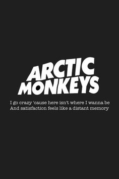 Arctic Monkeys Band Music Logo Identity Branding Black And White