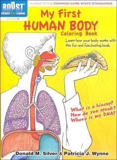 My First Human Body Coloring Book (Boost Series) | Main Photo (Cover)