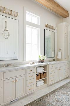 Master Bath Remodel, Master Bathroom, Cream Bathroom, Master Baths, Master Shower, Interior Exterior, Bathroom Interior Design, Bathroom Inspiration, Home Decor Inspiration