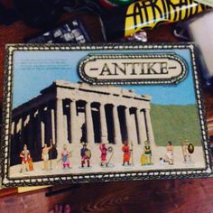 Game of the night is Antike which is quite a different game to that which I've played before #happyplace #gamenight #Antike