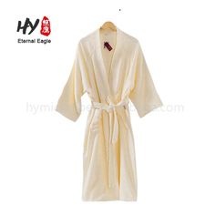 Customized kids terry towelling bathing robes