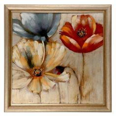 Spring Floral Framed Canvas Print | Kirklands