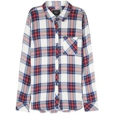 Rails Hunter Plaid Flannel Shirt ($44) ❤ liked on Polyvore featuring tops, shirts, flannel, plaid, red flannel shirt, tartan plaid flannel shirt, plaid flannel shirt, red plaid shirt and shirt tops