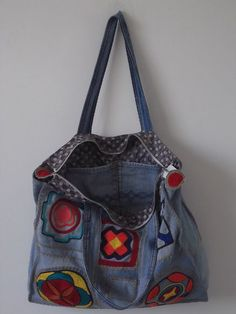 Bolsa Jeans Artesanal - Produto 303474 | AIRU