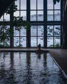 Inside the bath house at glamping and ski lodge hotspot Cresto Ranch at Dunton Hot Springs. Oh The Places You'll Go, Places To Visit, Hawaii, Der Bus, Adventure Is Out There, Adventure Awaits, Vacation Destinations, Vacations, Hot Springs