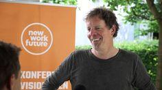 Rückblick: Das war die von uns zusammen mit Trendquast veranstaltete New Work Future Konferenz. Hier sehen wir Johannes Mainusch im Interview. #newwf16 #newwork
