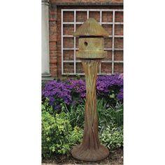 Henri Studio Round Bird House Garden Statue - 2121-TR