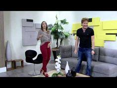 Mulher.com 26/05/2015 Caio Von Vogt - Customização jaquetas para inverno Parte 2/2 - YouTube
