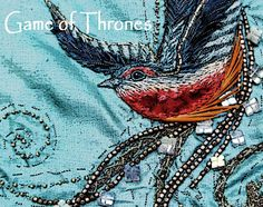 Game of Thrones costume embroidery blog post.  Fascinating.