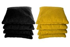 "8 Standard Corn Filled Regulation 6""x6"" Duck Cloth Cornho..."