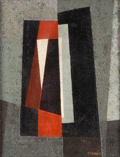 'Komposition Med Orange' by Esaias Thoren