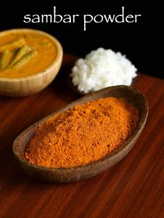 sambar powder recipe, homemade sambar masala podi with step by step photo/video. spice powder added to lentil based soup with vegetables to authentic sambar Sambhar Recipe, Podi Recipe, Dhokla Recipe, Masala Powder Recipe, Masala Recipe, Homemade Spices, Homemade Seasonings, Homemade Recipe, Snack Recipes
