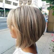Image result for blonde highlights on SHORT brown hair CONCAVE BOB