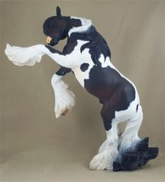 Breyer TR Othello; customized and painted by Sue Kern