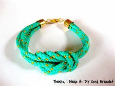DIY Colorful Cord Bracelet