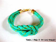 DIY Colorful Cord Bracelet