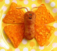Chicken Butterfly. Use chicken, sausage or anything else and add some chips.