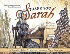 Thank You, Sarah--A new Thanksgiving book! hilarious book