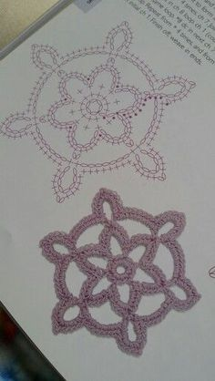 Best ideas for crochet christmas star yarns Crochet Snowflake Pattern, Crochet Motif Patterns, Crochet Stars, Crochet Snowflakes, Crochet Blocks, Crochet Diagram, Crochet Round, Crochet Granny, Crochet Doilies