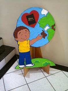 The Great Commission Craft - Go into all the World and preach the gospel