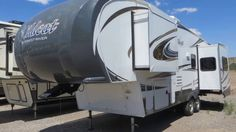 The Forest River Wildcat is a very well built and very well equipped wheel camper. We recently took in this used 2014 Wildcat model and it is supe. 5th Wheel Camper, Fifth Wheel Trailers, Forest River, Recreational Vehicles, Trucks, Camper, Truck, Campers, Single Wide