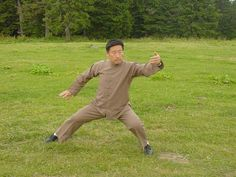 """When you practice Taijiquan, your qi flow is many times stronger than the natural flow and it can flush out blockages. The principle way of communication is the correct movement. The correct movement is very important. That is how the dantian can communicate with the muscle, which is the main mechanism of communication."" ""You move the dantian and then it connects with the muscle, and the muscle connects with the hand and leg. This is the essence of Taiji."" BY CHEN XIAOWANG"