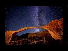 Paisajes nocturnos de Royce Bair.  Paisajes impresionantes dentro de los Parques Nacionales de Estados Unidos.