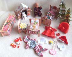 Orig.Baby Born Miniworld --- Winterwelt mit Puppe und viel Zubehör --- 12 cm