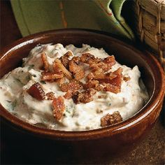 Roasted Garlic and Bacon Dip | Cuisine at home eRecipes