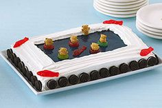 """JELL-O """"Dive-on-In"""" Cake"""