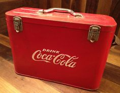 Vintage Cavalier Jr. Airline Coca-Cola Cooler