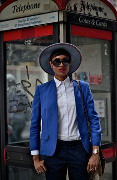 DapperLou.com   Men's Fashion & Style Blog   Street Style   Online Shopping : Women's Wear Wednesday   Donya Patrice...New Oxford Street, London