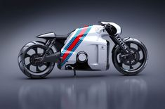 The beautiful Lotus C-01 Motorcycle design is from the same creative brain; Daniel Simon who also happened to design the Tron Legacy Motorcycle. Description from kingoffuel.com. I searched for this on bing.com/images