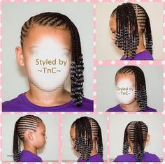 Twist Hairstyles For Little Girl
