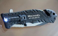 Personalized Pocket Knife, Engraved Folding Hunting Knife, Groomsmen Gift, Best…