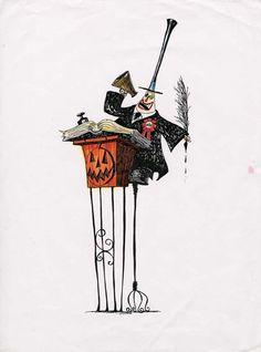 the art of Tim Burton — timburtonsblog: Original sketches by Tim...