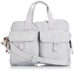 Alanna Metallic Diaper Bag Platinum Metallic Babies