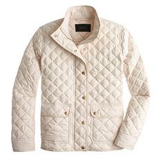 Quilted puffer jacket : puffer | J.Crew I want this in vest form